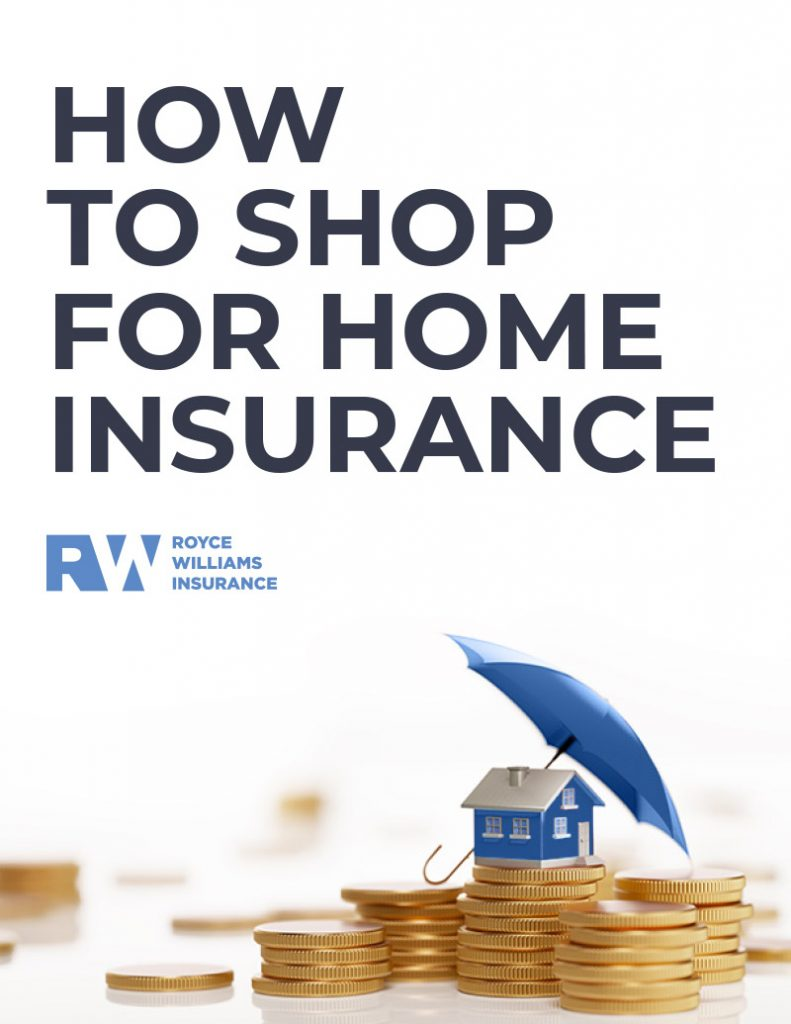 Home Insurance Shopping eBook