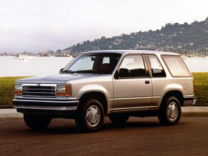 1991 Ford Explorer XL 2-door.